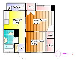 東洋ビル[8階]の間取り