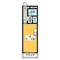 states三進[2階]の間取り