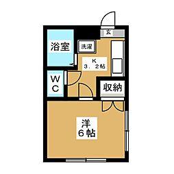 三浦パークマンション[2階]の間取り