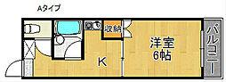 クライマーコーポヒロ[2階]の間取り