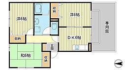 フレマリール八代 B棟[B103号室]の間取り