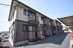 栃木県宇都宮市下栗町の賃貸アパートの外観
