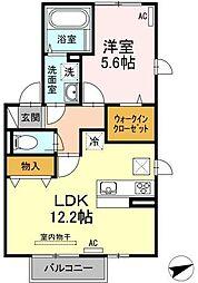 仮)D-room梅満町[101号室]の間取り