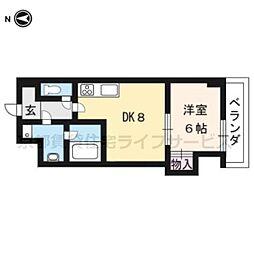 Du四条[4-D号室]の間取り