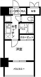 メインステージ南麻布IV[8階]の間取り