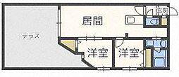 リュクスN22[1階]の間取り
