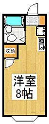 クロノス小川町[1階]の間取り