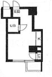 TY BUILDING[D504号室]の間取り