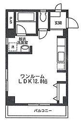 M・フラット[3階]の間取り