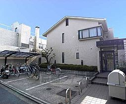 京都府京都市北区平野八丁柳町の賃貸マンションの外観
