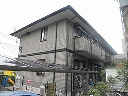 神奈川県横浜市都筑区荏田東4丁目の賃貸アパートの外観