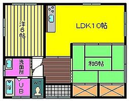 [一戸建] 宮崎県都城市千町 の賃貸【/】の間取り