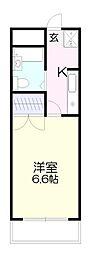 サンクレスト寺台[1階]の間取り