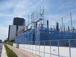 大阪府東大阪市岩田町の賃貸マンションの外観