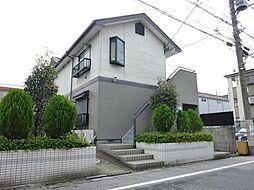 東京都江戸川区鹿骨3丁目の賃貸アパートの外観