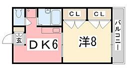 E−MATE[207号室]の間取り