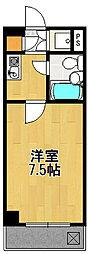 アパルトマン255[1階]の間取り