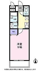 埼玉県草加市神明1の賃貸マンションの間取り