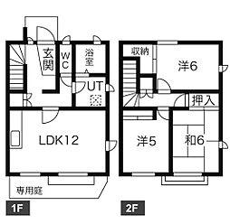 [テラスハウス] 愛知県名古屋市天白区中平2丁目 の賃貸【/】の間取り