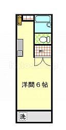 メゾンTAKI[2階]の間取り
