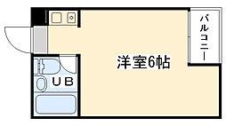 大阪府大阪市西区本田3丁目の賃貸マンションの間取り