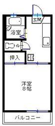 宮崎県宮崎市清武町加納甲の賃貸アパートの間取り