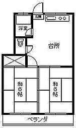 古川電気ビル[302号室]の間取り