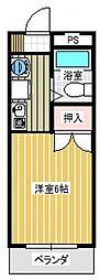 第五橋本ビル[212号室号室]の間取り