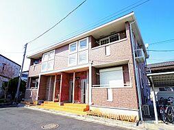 東京都東大和市狭山5丁目の賃貸アパートの外観
