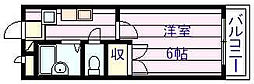 プランドール国分[3階]の間取り