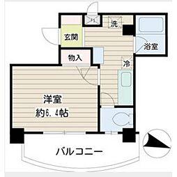 ハイネス新川崎[3階]の間取り
