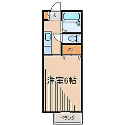 プラスワン[2階]の間取り