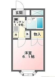 東京都江戸川区東葛西8の賃貸マンションの間取り