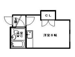 菊水駅 1.5万円