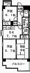 メゾン・ド・ルポ[306号室]の間取り