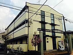 東京都日野市旭が丘5丁目の賃貸アパートの外観
