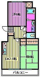 アーデルミーツ[1階]の間取り