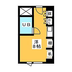 東カン名古屋キャステール[10階]の間取り