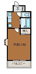 第33平安コーポラス[3階]の間取り