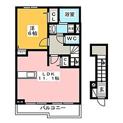 スリールハウス I[2階]の間取り