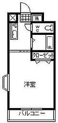 アルカコンネ桜[302号室]の間取り