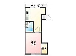 仙台屋ビル[2階]の間取り