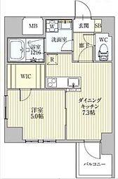 サンレムート新大阪イースト[2階]の間取り