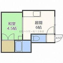 いまいマンション[1階]の間取り