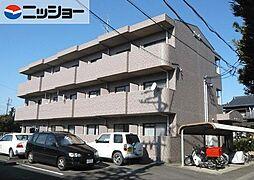 愛知県北名古屋市加島新田屋敷の賃貸マンションの外観