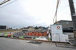 富山県富山市黒崎の賃貸アパートの外観