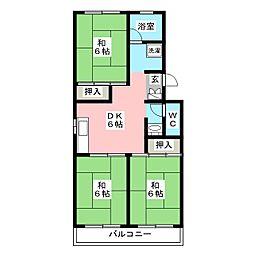 第1小館ビル[4階]の間取り