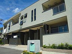 兵庫県神戸市灘区五毛通4丁目の賃貸アパートの外観