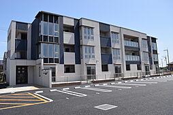 茨城県つくば市みどりの東の賃貸マンションの外観