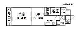 WillDo 十三東2nd[8階]の間取り